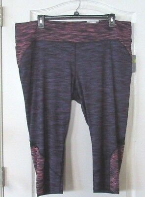 7a34c1f624e9a Tek Gear Space-Dyed Performance Capris Women s PLUS Sz. 3X NWT MSRP 36