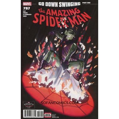 Amazing Spider-man #797 A ALEX ROSS VF+/NM+ 2018 SOLD OUT RARE