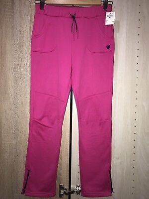 OshKosh B'gosh Girls' Pink Sportswear Joggers 12 Years