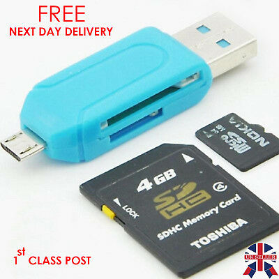 USB 3.0 SD Memory Card Reader SDHC SDXC MMC Micro Mobile T-FLASH