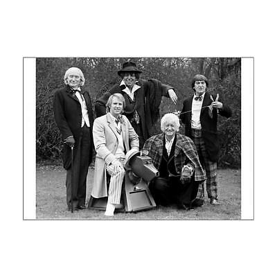 11089056 A2 (59x42cm) Poster BBC Television Shows - Doctor Who - The Five D...