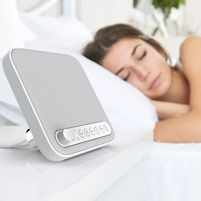 Premium Sleep Therapy Sound Machine White Noise Soothing Natural Ocean Sounds
