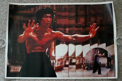 aec15f66dd2 Bruce Lee 1980s Enter the Dragon Scars Shirtless 2 Pix Taiwan Poster  W145  VG+