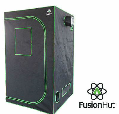 Fusion Hut 600D Mylar Hydroponic Grow Tent Reflective Growing Room Grow Box Tent