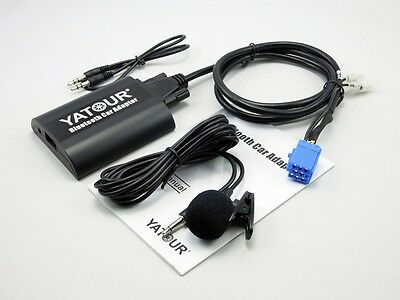 Yatour Bluetooth Car Adapter Misic CD Changer for Alfa Romeo 147 156 159 Brera
