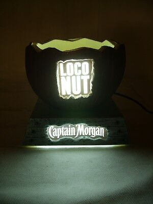 Captain Morgan Coconut Rum - Loco Nut LED Lighted Bottle Glorifier Display Stand