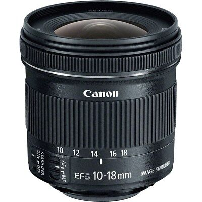 Canon EF-S 10-18mm f/4.5-5.6 IS STM Lens (Retail Box) VB