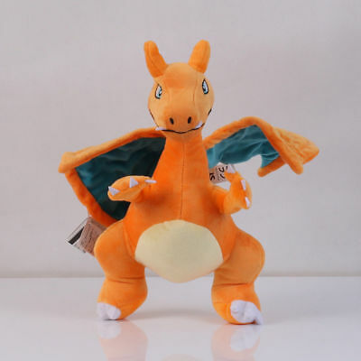 Pokemon Center Charizard Plush Toy Doll Stuffed Dragon Soft Toy 12 inch US SHIP