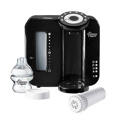 Tommee Tippee Prep Machine Dispenser Baby Bottle Closer To Nature Filter Black