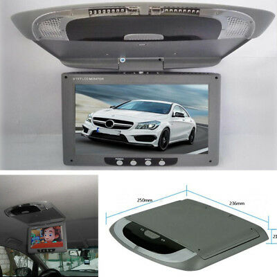 """9"""" Flip Down TFT LCD Monitor PAL/NTSC Video System Multimedia Player for Bus Car"""