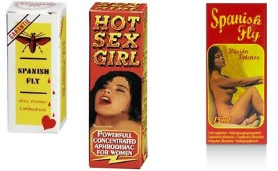 Spanish Fly Extra HOT SEX GIRL Passion INTENSO Love Drops Aphrodisiaka Lust Sex