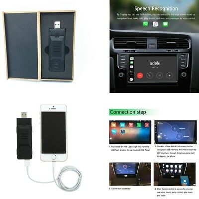 CARPLAY MODULE DONGLE USB Car Auto Music Navigation Player Support