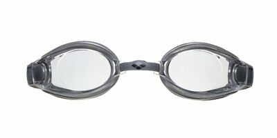 Arena Schwimmbrille Zoom X-Fit, Silver-Clear-Silver, One Size, 92404