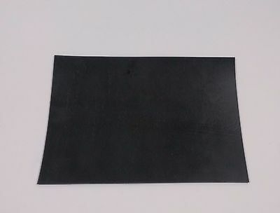 "1/16"" thick Neoprene Rubber Sheet 8"" x 10"" smooth Black FREE SHIPPING"