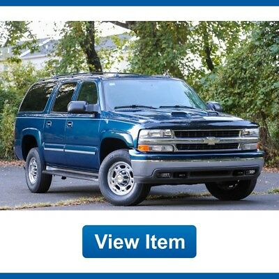 Chevrolet Suburban 2500 8.1L 1 Owner Serviced 4WD CARFAX Tow Leather