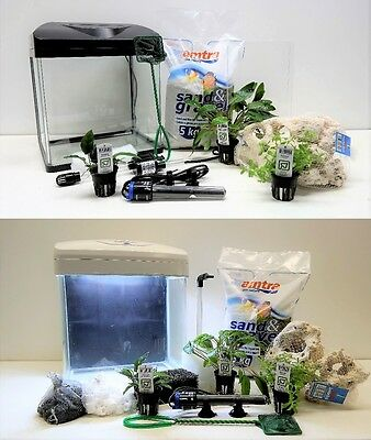 "nano aquarium "" y compris décoration "" LED clair de lune TROPICA plantes TOP"
