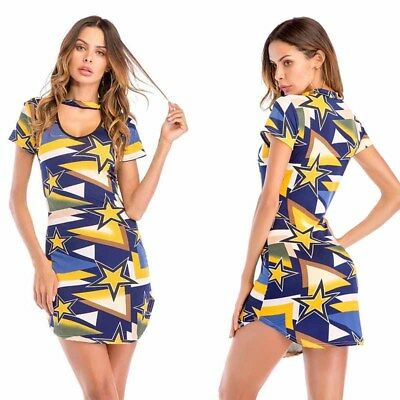 Woman Slim Package Hip Dress Sexy Bodycon Short Skirts Fashion Ladies Summer NEW