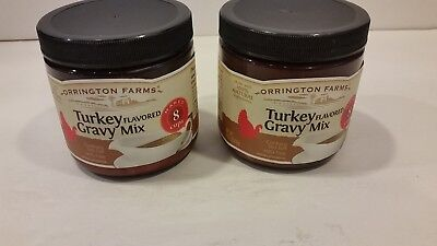 2 Orrington Farms Turkey Flavored Gravy Mix 8 Ounce NEW FREE SHIPPING