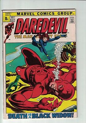 Marvel Comics DAREDEVIL No 81 Nov 1971