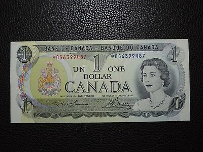 1973 $1 Dollar Bank of Canada Banknote Replacement Bill *OG6399487 UNC Grade