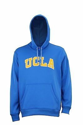 ADIDAS NCAA MEN S UCLA Bruins Tech Fleece ClimaWarm Pullover Hoodie ... 8b157ae75