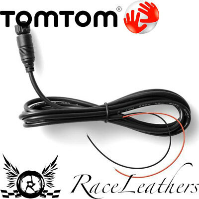 Tomtom Rider 40/400/410 Satnav Gps On Bike Charging Cable