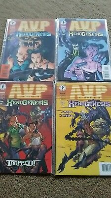 AVP Aliens Vs Predator Xenogenesis Issues 1-4 New Dark Horse Comics