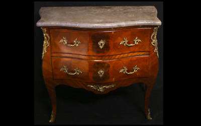 Chest of Drawers, OG FRENCH ANTIQUE !! LOUIS XV Style Bombe Commode! NEW PRICE!!