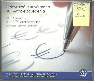 Slovaquie - Coffret Brillant Universel 2012 - Introduction de l'Euro