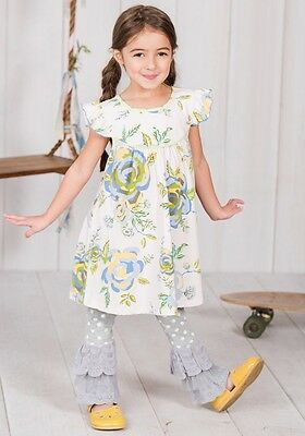 NWOT Matilda Jane Riding Bikes Pearl Adventure begins Floral 2 10
