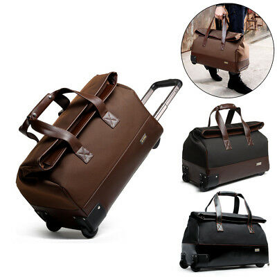"20"" Luggage Suitcase Laptop Trolley Travel Carry On Bag Portable Business Case"