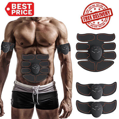 Smart ABS Muscle Arm Waist Magic EMS Training Gear Body Exerciser Simulation