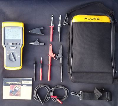 Great Condition Fluke 1520 MegaOhm Meter