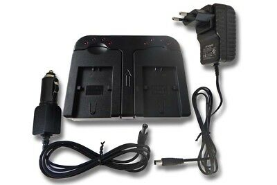 2in1 CHARGEUR SET POUR SONY DCR-SX 40 E DCR-DVD 110 E HDR-TG 5