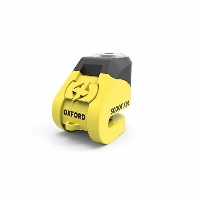 Oxford Scoot XD5 Motorcycle Bike Scooter Disc Lock Security LK260 Yellow