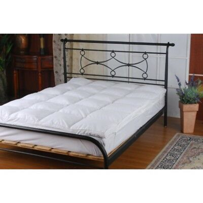 NEW 100% White Duck Feather Bed Mattress Topper King Single Double King Queen