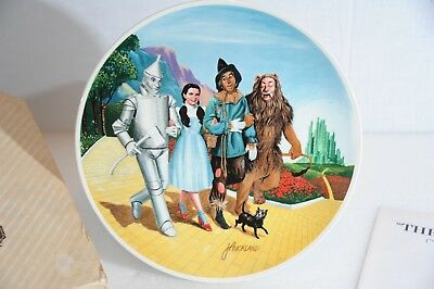 """Knowles Wizard Of Oz """"The Grand Finale"""" 10"""" China Collectors Plate (1979)"""