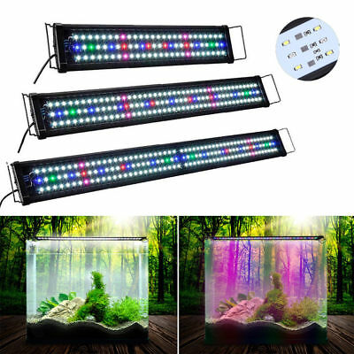 55-115CM Voll Spektrum Aquarium Beleuchtung LED NATURAL LIGHT Moon Lampe