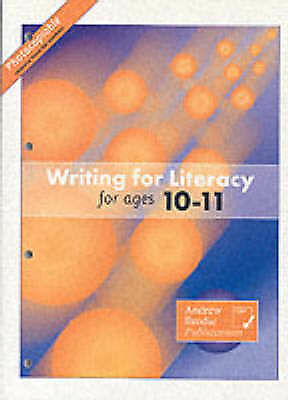 Writing for Literacy for Ages 10-11, Richardson, Judy, Brodie, Andrew, Very Good