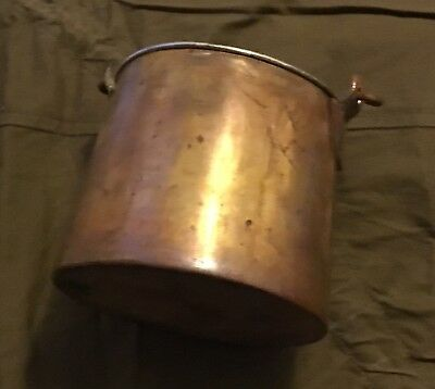 Russian Empire 1893 Old Copper Military Mess Pot Reproduction