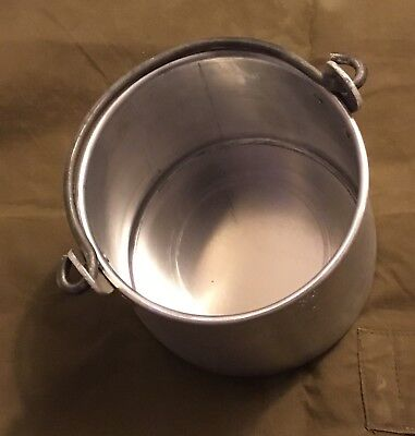 Russian Empire WWI Aluminum Military Mess Pot Reproduction
