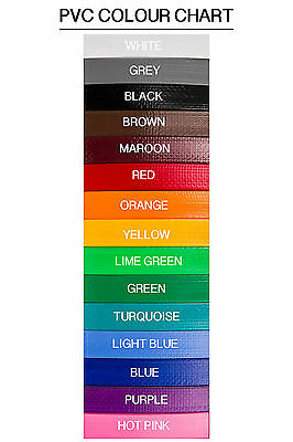 Handmade PVC Horse Vet/Mare ID Collars - 19mm wide - 15 colours!!!