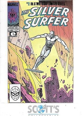 Silver Surfer   #2   NM-  (Epic)