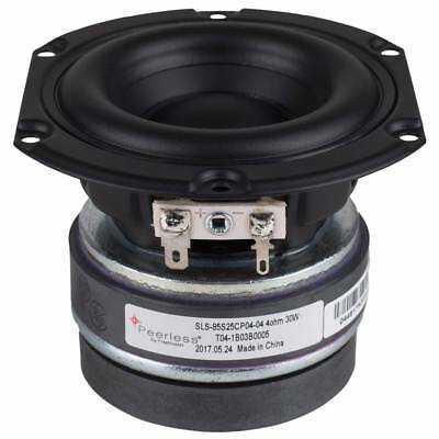 """Peerless by Tymphany SLS-85S25CP04-04 3-1/2"""" Paper Cone Woofer"""