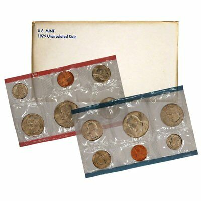 1979 U.S mint uncirculated coin set in Original Government Packaging