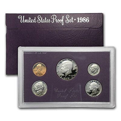 1986 S US PROOF set In original packaging from mint Proof