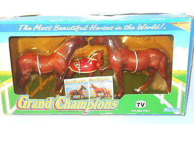 Grand Champion Quarterhorse Stallion & Mare & Foal 1992 In Original Box