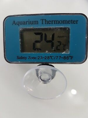 LCD Submersible Aquarium Digital Thermometer UK SELLER 1st class postage