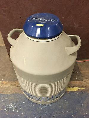 Union Carbide Liquid Nitrogen Tank Canister Model 35VHC