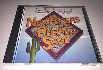 New Riders Of The Purple Sage La Lady Cd Jerry Garcia Grateful Dead Hard To Find